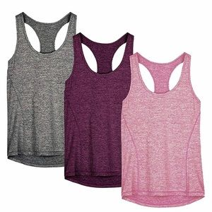 Icyzone Women's Workout (3) Tank Tops